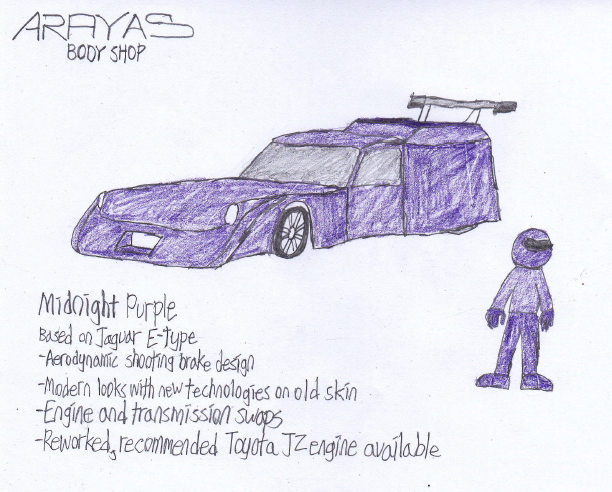 Most recent image: Arayas Midnight Purple
