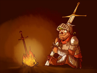 The slowest knight in Lordran