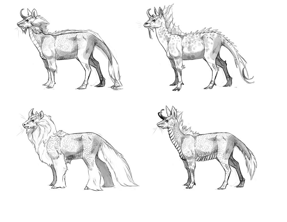 Kirin biome variations
