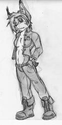 Evay makes jean jackets look good
