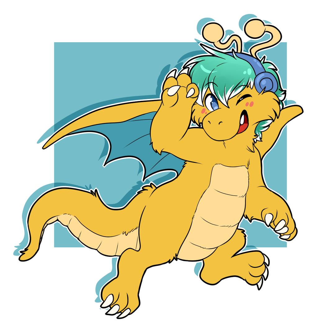 (Not mine) Creative dragon