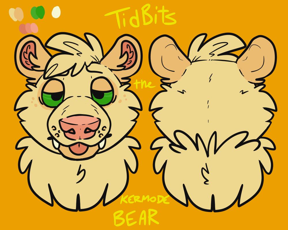 BEARSQUAD: TidBits the Kermode Bear