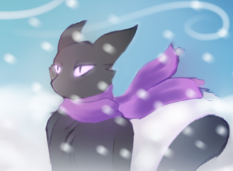 Smudge in the Snow