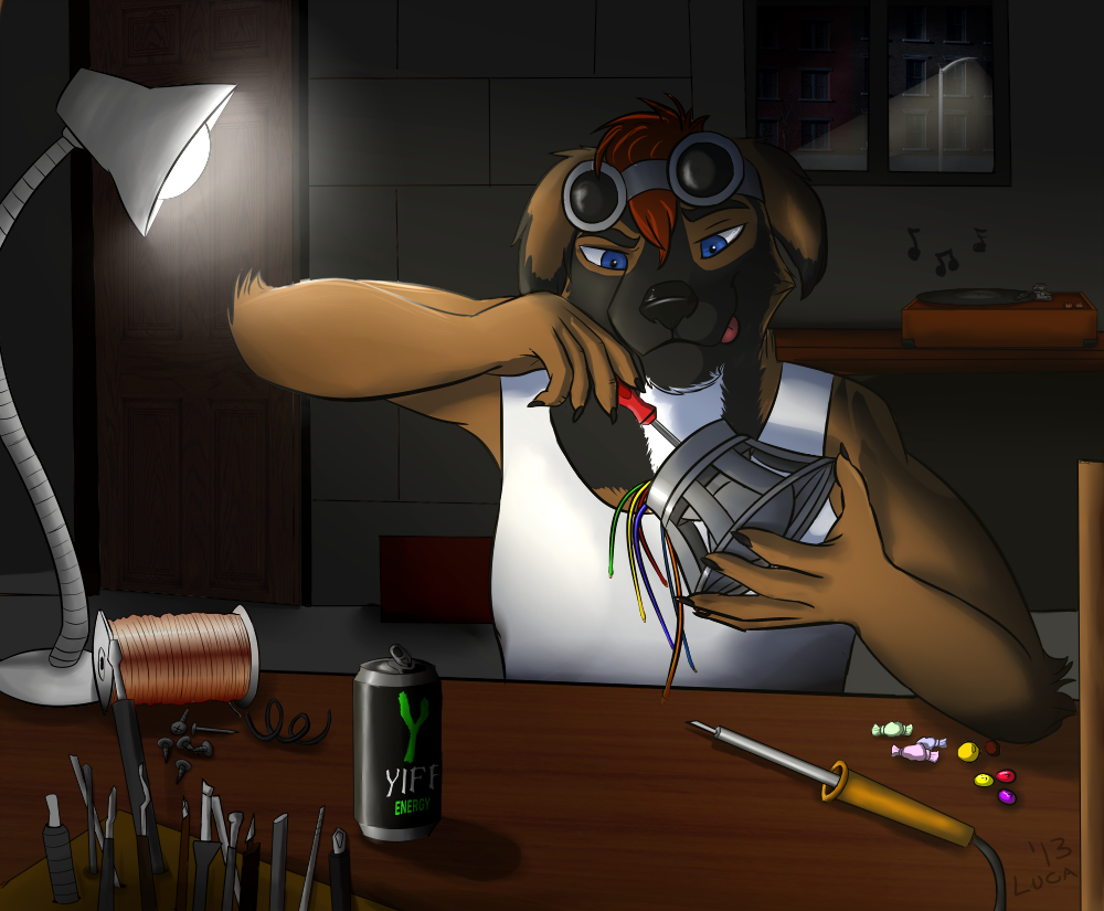 It's electro time! - by Luca