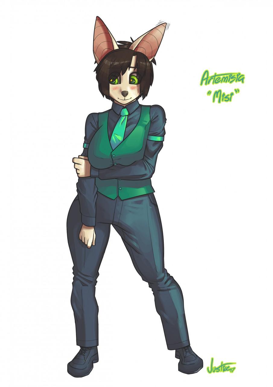 Most recent image: Artemisia! :3