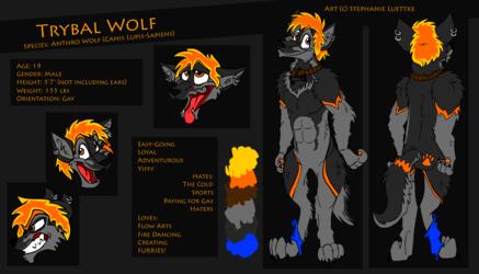 Trybal Wolf Reference Sheet