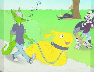 Just me and my Bonana Slug