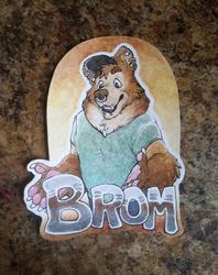 Brom Collab Badge