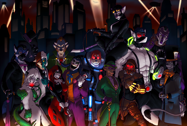 Gotham's Rogue Gallery