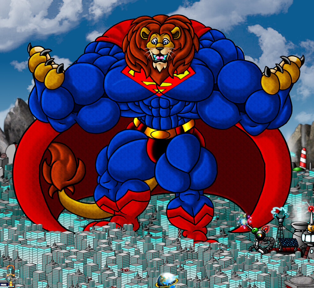 Most recent image: The Krypton King of the Jungle alt version