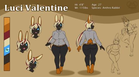 [R] SandR032 - Luci Valentine