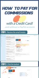 How To Pay for Commissions with a Credit Card