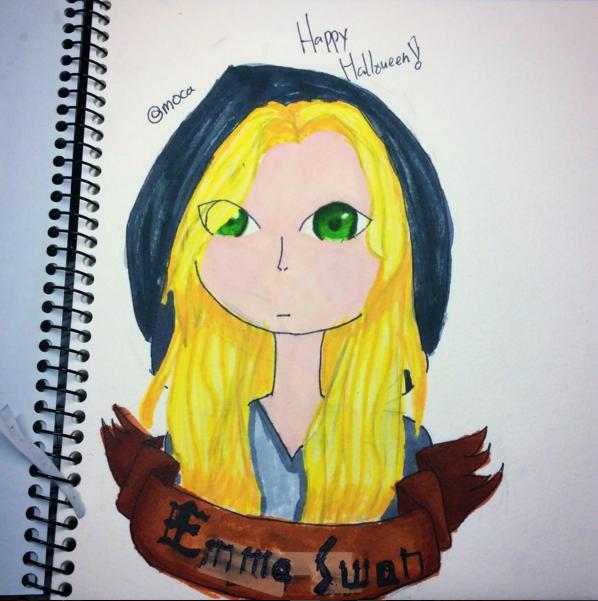 Late Halloween - Emma Swan