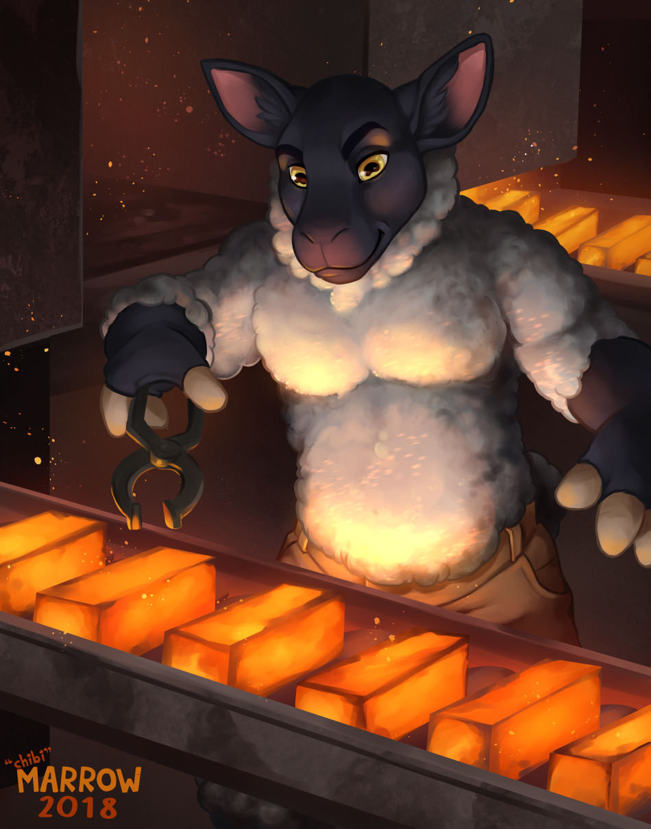 Hot Steel by Chibi Marrow