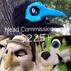 [OPEN] Fursuit Head Special