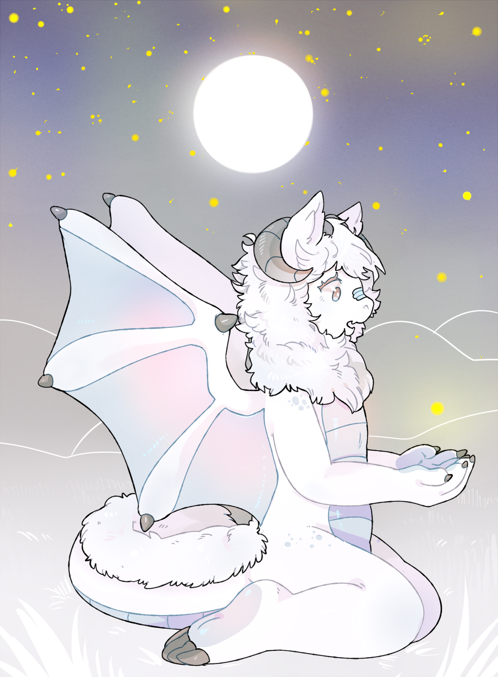 beneath the starry sky