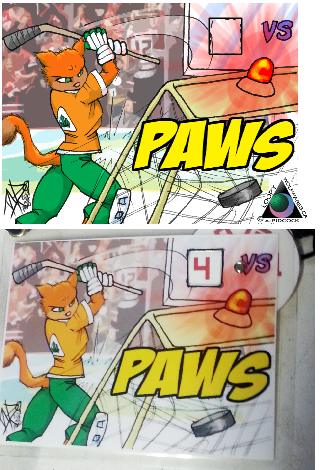 Paws Action Badge