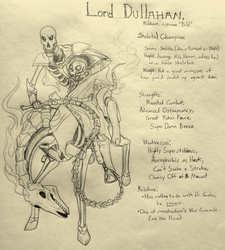 LORD DULLAHAN Character Sheet