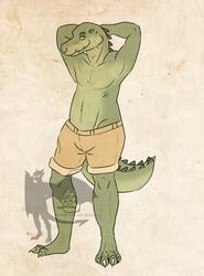 Anthro Crocodile