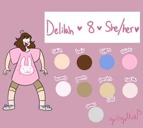 [OC Ref] Delilah