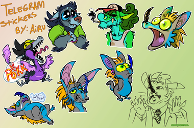 Telegram Stickers... want some?