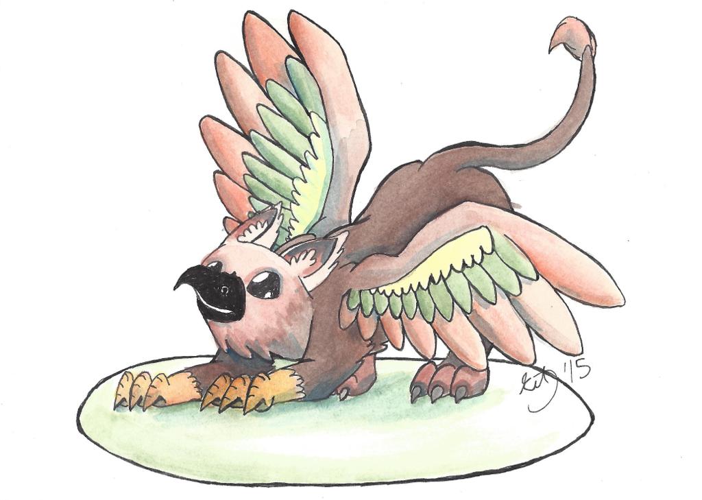 Mythical Minis: Gryphon