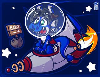 [FC] - DRAGON IN SPACE