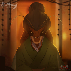 Blade Under Mask Portrait: Asami