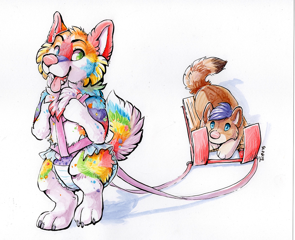 Most recent image: Sled Pulling Puppy!