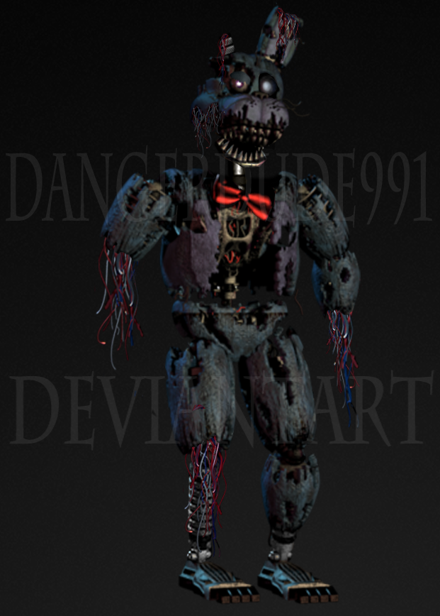 Most recent image: Withered Nightmare Bonnie
