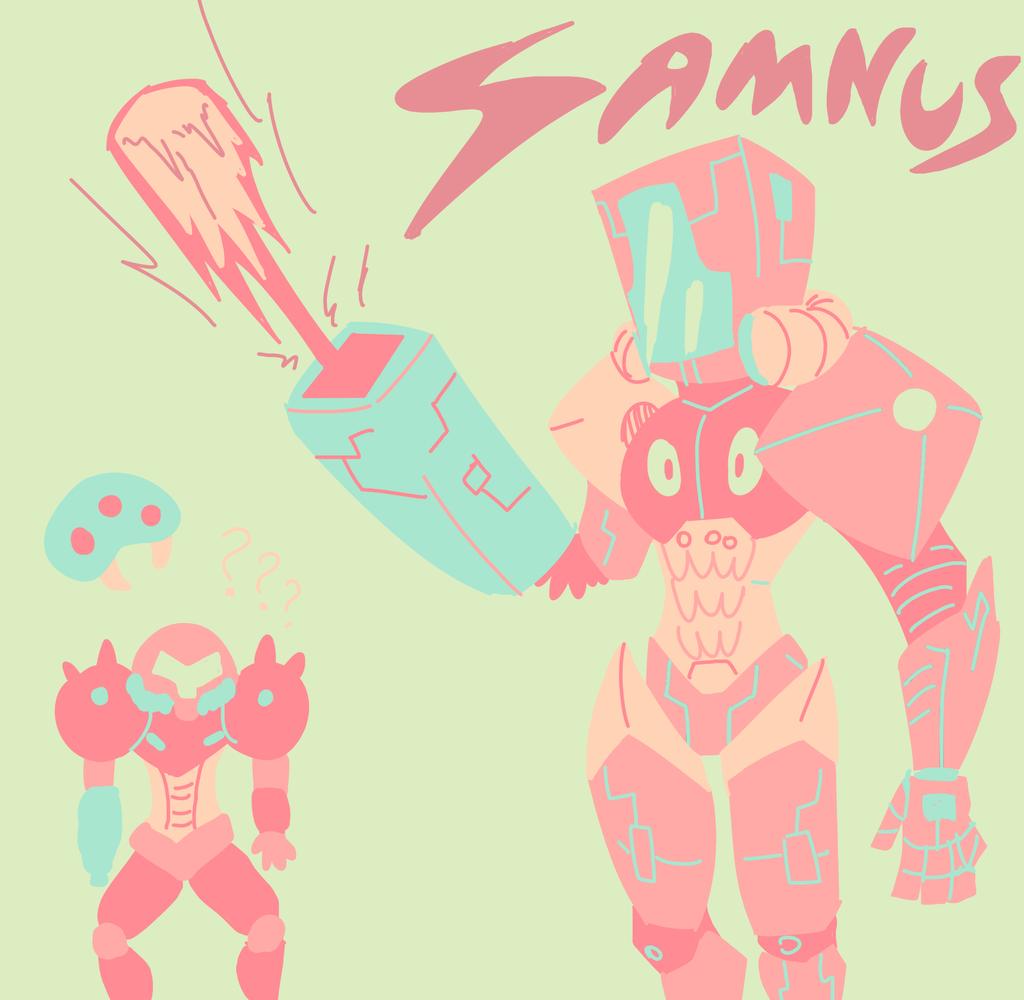 Tumblr palette fun 3: Samnus