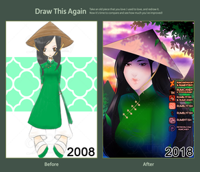 Draw This Again - Asian Beauty