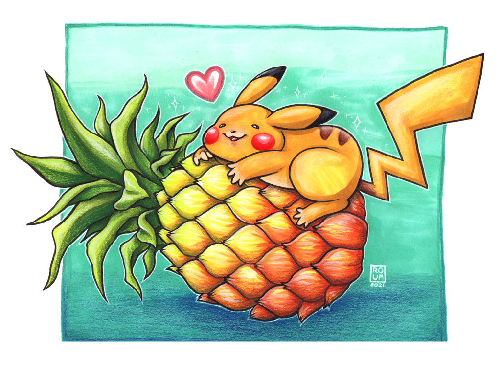 Most recent image: Pika Pineapple