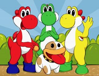 Yoshi Trio!