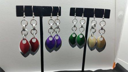 SHINIES!  New Earring Design
