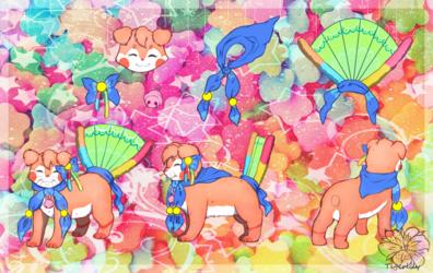 Sugar Gummy Worms ::Art Trade:: 2/2