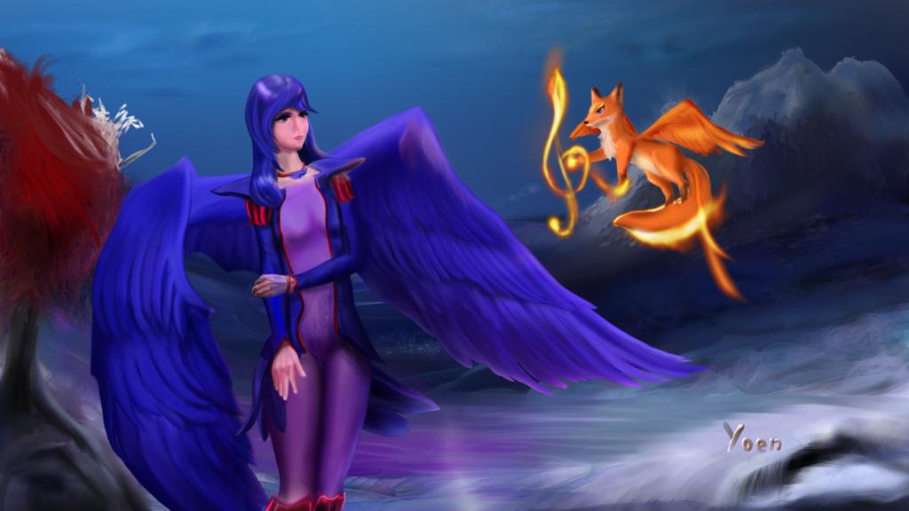 Caballero Sagrado Azul (Yumi)