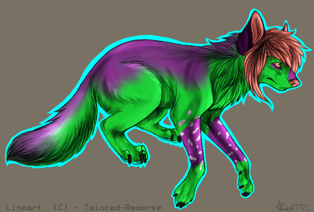 NeonBreezyRayne Feral (Adopted)