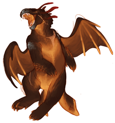 Happy Chubby Lava Dragon