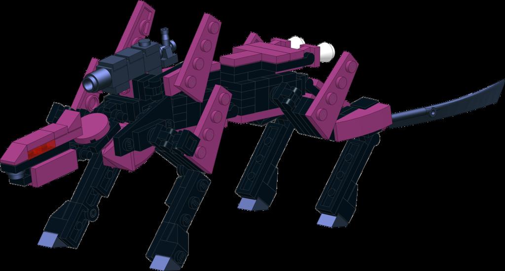 Lego Zoids: Steel Ferret