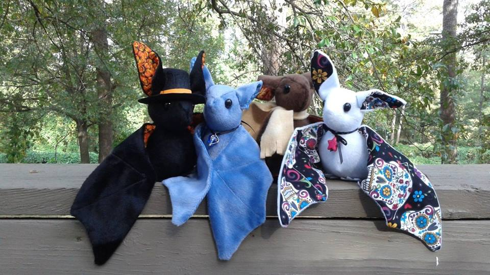 Bat Plushies - October