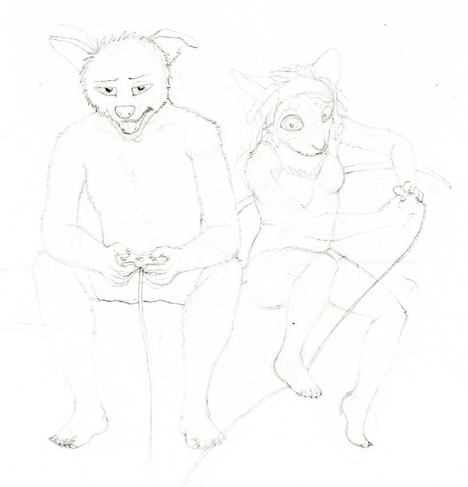 Gaming Sketch