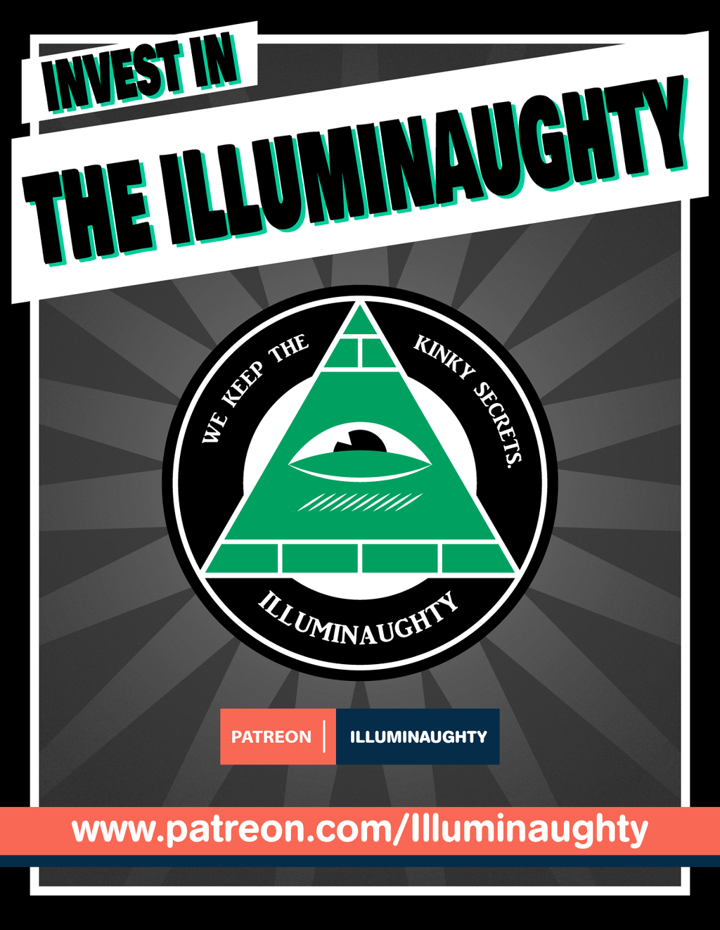 Most recent image: Illuminaughty Patreon Launched Call To Action
