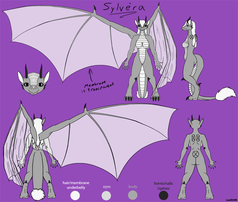 Most recent image: Ref Sheet for RyuuChan