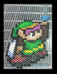 """Link from """"A Link to the Past"""" (premelt)"""