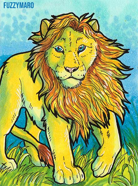 Lion-ATC card