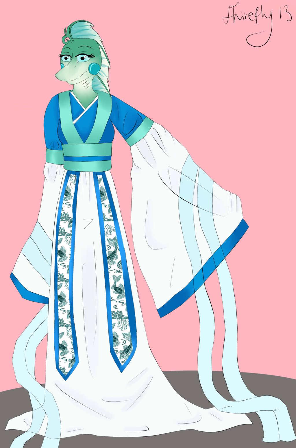Persephone Hanfu Commission