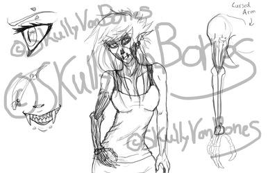 Skully (livestream sketches)