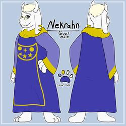 Simple Ref Sheets for Nekrahn!