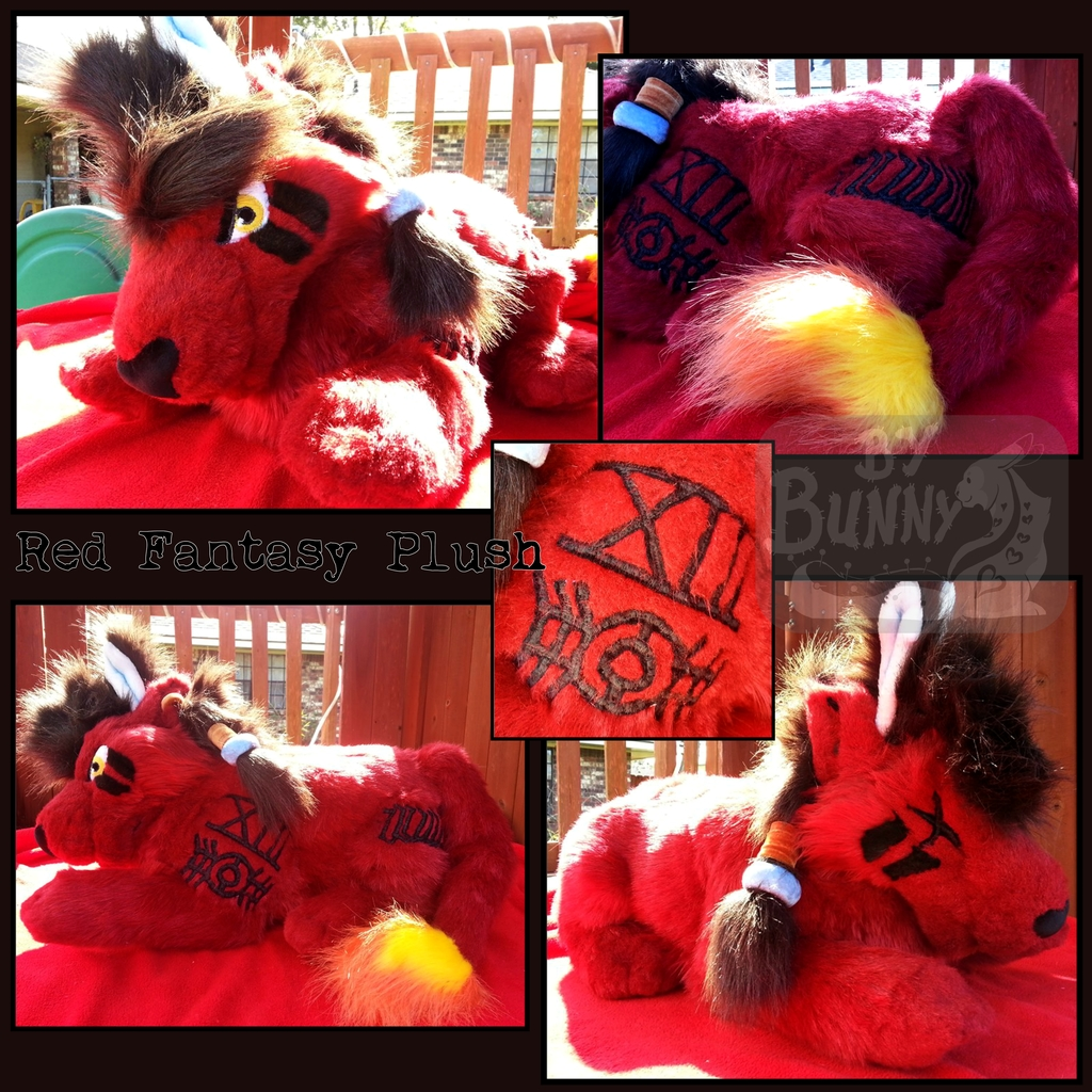 Most recent image: Red Fantasy Plush